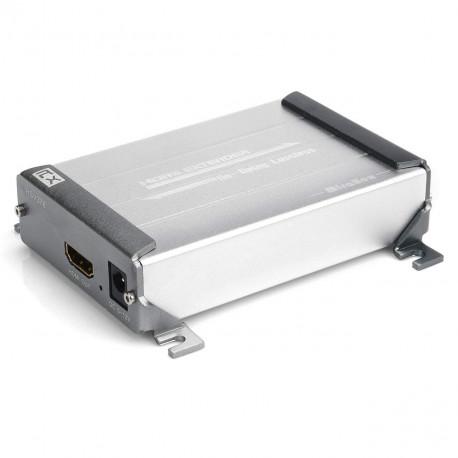 Mirabox Extendeur HDMI sur Cat5/Cat5e/Cat6/Cat6e seul câble réseau 100 m Lossless Découvert pour DVR, DVD, Home Cinéma (Arx378)