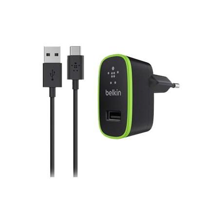 Chargeur secteur universel avec câbe USB-A vers USB-C