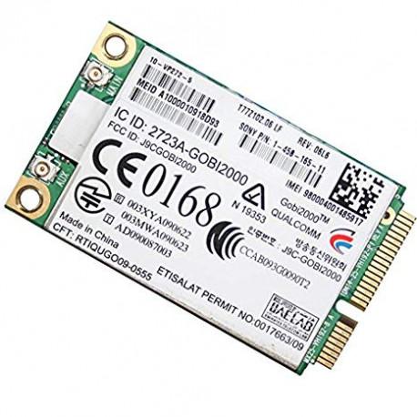 Intel Carte WWAN 3G Qualcomm Gobi 2723A-Gobi2000 T77Z102.06 LF 1-458-165-12 Sony VPC
