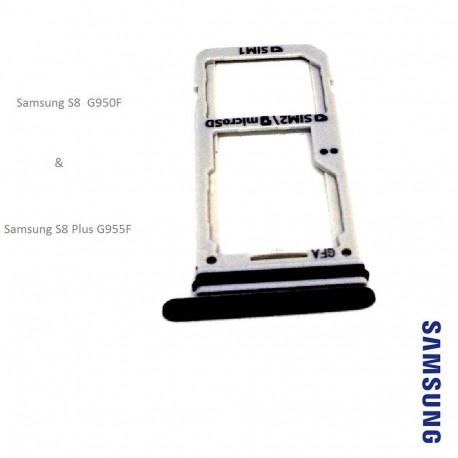 Tiroir carte double SIM pour Samsung Galaxy S8 (+)