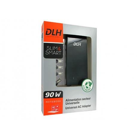 Chargeur d'alimentation PC portable DLH 90W universel