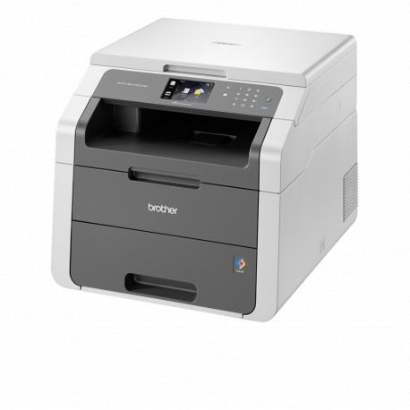 Brother - Imprimante Multifonction 3-en-1 recto verso rapide - DCP-9015cdw