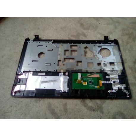 Plasturgie base haute pour Packard Bell TE69CX Series avec bouton power