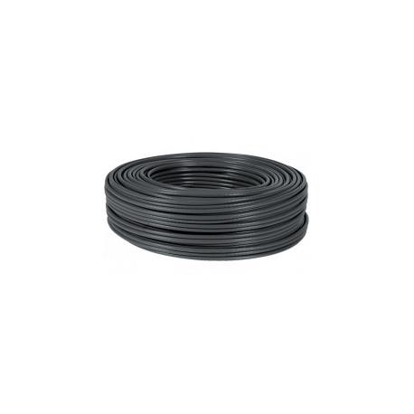 Cable reseau blindé exterieur noir CAT6