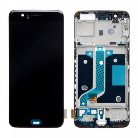 LCD avec chassis Oneplus 5 - Noir