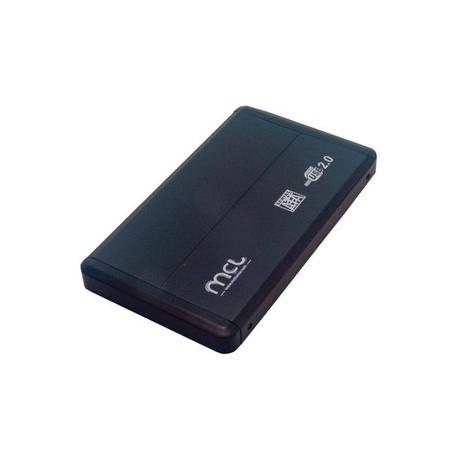 """Boîtier Pour Disque Dur MCL - USB 2.0 Host Interface Externe - 1 x 2.5"""""""