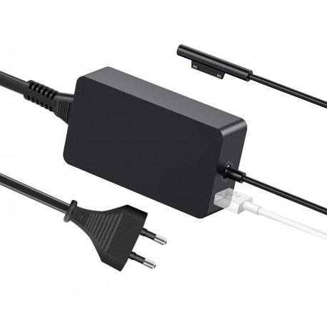 Chargeur Surface,15V 2.58A 44W Surface Pro