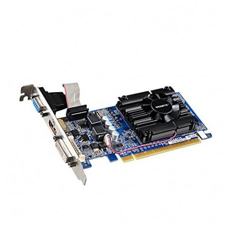 Gigabyte GV-N210D3-1GI REV6.0 Carte Graphique Nvidia GF210 650 MHz 1024 Mo PCI-Express