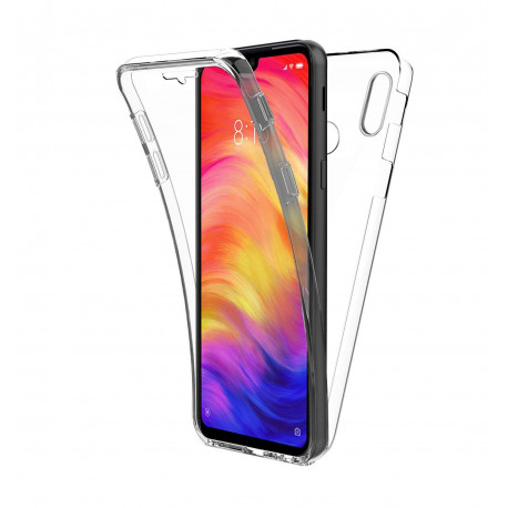 Etui de protection complete pour Xiaomi Redmi 7 - Silcone transparent