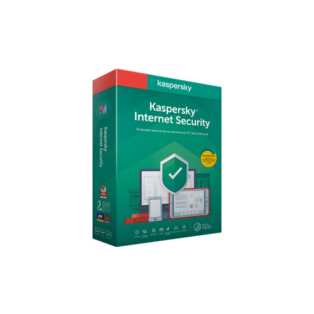 Kaspersky Internet Security 2020 1 Pc, 1 Year, ESD - EUROPE