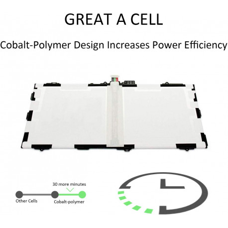 Batterie pour Samsung Galaxy Tab S 10.5 SM-T800 T801 T805 T805C T805W T805Y T805M T807 T807A T807P T807V T807T