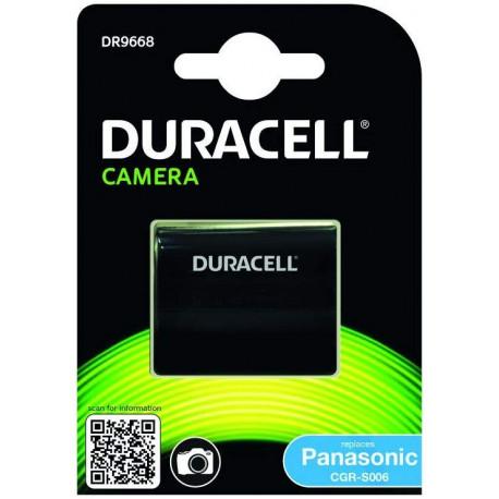 Duracell Batterie pour Appareil Photo Numérique Panasonic CGR-S006