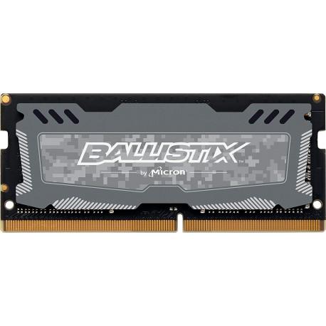 Crucial Ballistix Sport LT 2666 MHz, DDR4, DRAM, Mémoire pour Ordinateurs Portables de Gamer, 16Go, CL16 (Gris)