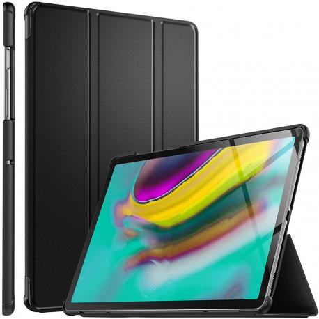Coque Housse Étui pour Samsung Galaxy Tab S5e T720/T725, Smart Cover Housse Etui Cuir
