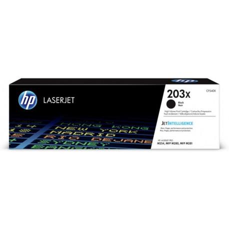 HP 203X Toner LaserJet Noir Grande Capacité Authentique