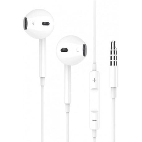 Écouteurs Intra-Auriculaires avec Micro,Victorist Écouteurs Filaires