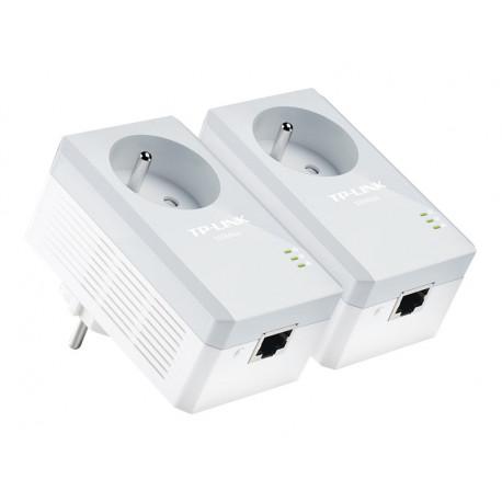 TP-Link CPL 600 Mbps avec Prise Intégrée et Ports Ethernet
