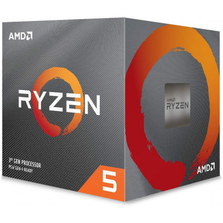 AMD Processeur RYZEN5 2600 Socket AM4 3.9Ghz