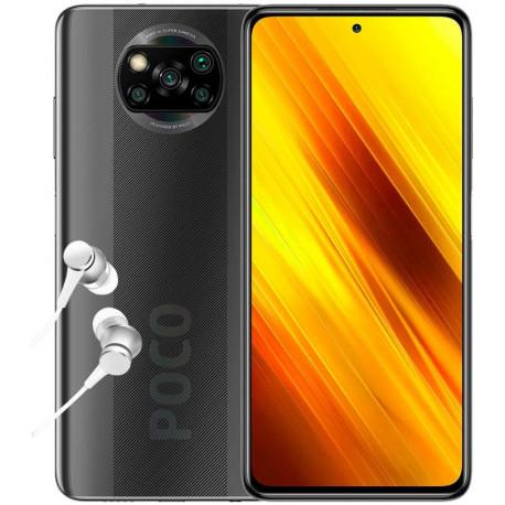 Poco X3 NFC - Smartphone Débloqué 4G (6,67 Pouces - 6Go RAM - 128Go Stockage, 5160mAh - Gris