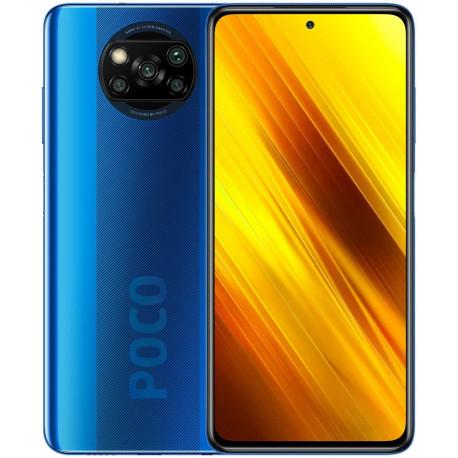 Poco X3 NFC - Smartphone Débloqué 4G (6,67 Pouces - 6Go RAM - 64Go Stockage, 5160mAh - Bleu