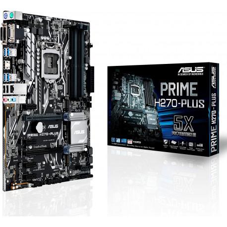 ASUS PRIME H270-PLUS | Chipset Intel H270 | Socket 1151