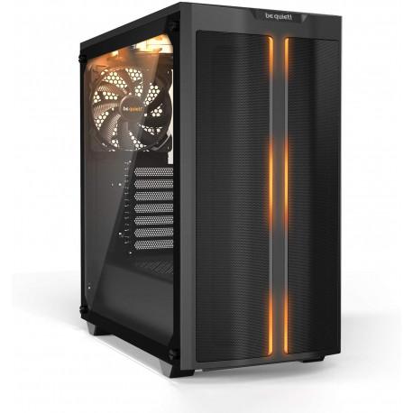 Be quiet! Boitier Moyen Tour ATX Pure Base 500DX RGB avec Panneau vitré (Noir),