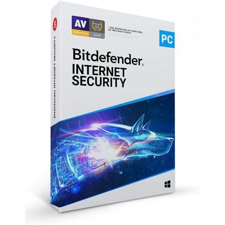 Bitdefender Internet Security 2021 | 5 appareils | 2 ans | PC | Téléchargement
