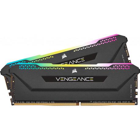 Corsair Vengeance RGB Pro SL 16 Go (2x8 Go) DDR4 3600 (PC4-28800) C18 1.35V