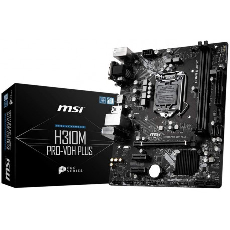 Carte Mere MSI *H310M Pro-VDH Plus* LGA 1151 ATX