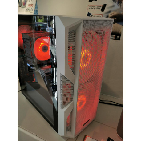 PC Gamer Black&White - Ryzen 3600 - RTX3060 12 Go