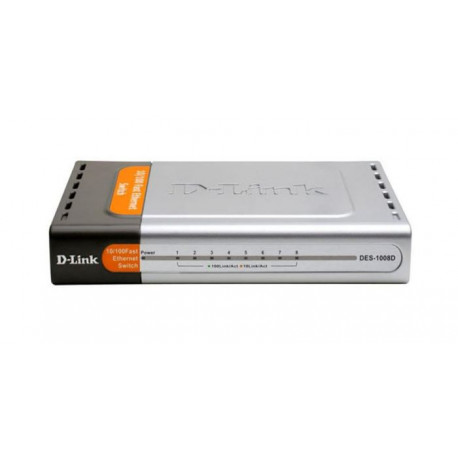 D-LInk DES-1008D - Switch 10/100 Fast Ethernet