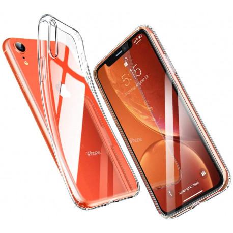 ESR Coque pour iPhone XR, Bumper Housse Etui de Protection Transparent en Silicone