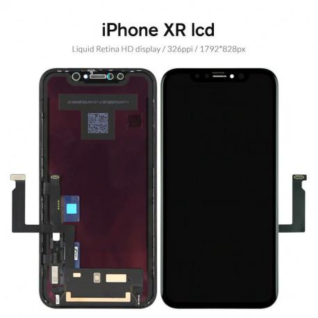ECRAN OLED LCD VITRE TACTILE SUR CHASSIS IPHONE X/XR