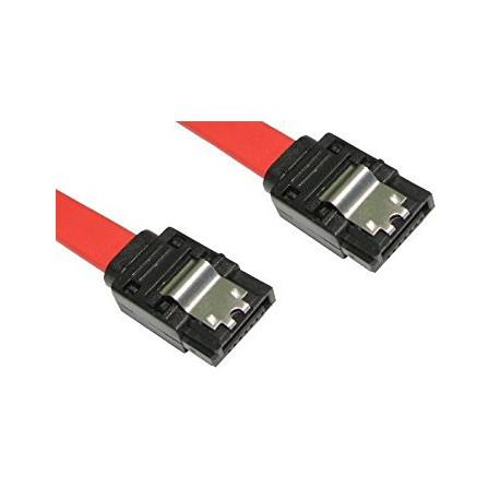 Cable SATA 70cm rouge