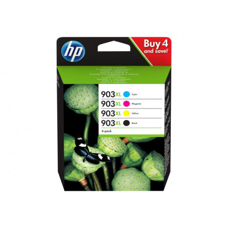 HP 903XL Pack complet