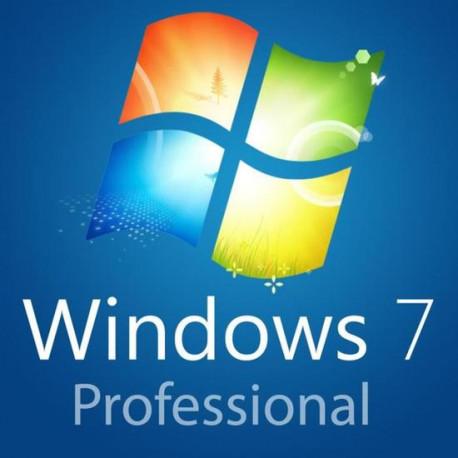 Licence Windows 7 Pro numérique