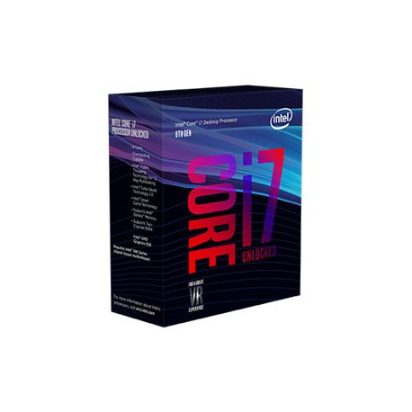 Processeur Intel Core I7-8700K 3.7GHz