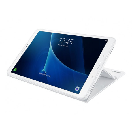 Samsung Book Cover blanche pour Galaxy Tab A (10.1 po)