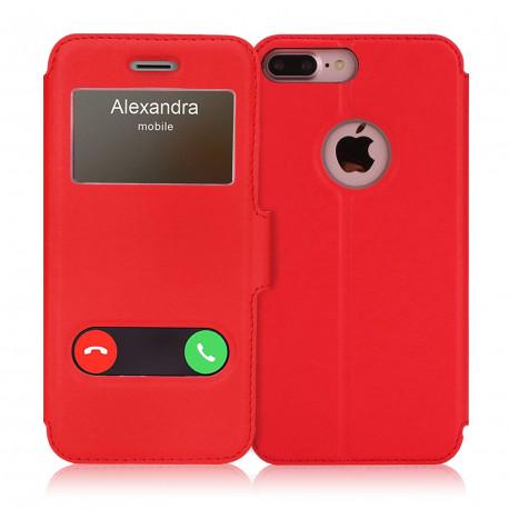Etui pour Iphone 8 Plus rouge